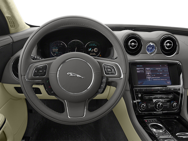 2013 Jaguar XJ Prices and Values Sedan 4D Supersport V8 driver's dashboard