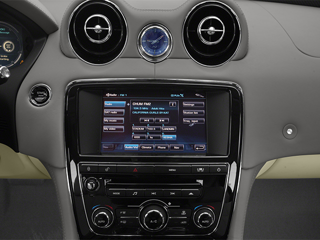 2013 Jaguar XJ Prices and Values Sedan 4D Supersport V8 stereo system