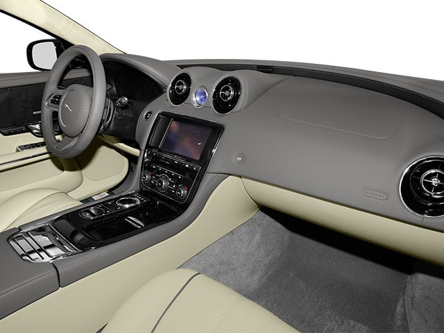 2013 Jaguar XJ Prices and Values Sedan 4D Supersport V8 passenger's dashboard
