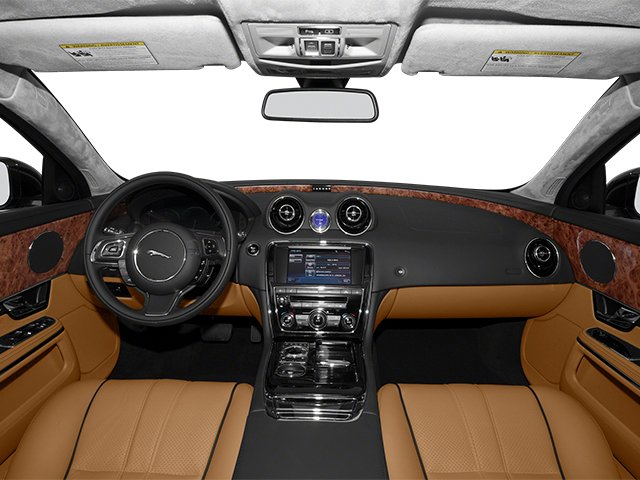 2013 Jaguar XJ Pictures XJ Sedan 4D L Supersport Speed V8 photos full dashboard
