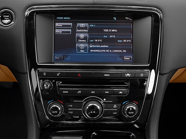 2013 Jaguar XJ Pictures XJ Sedan 4D L Portfolio AWD V6 photos navigation system