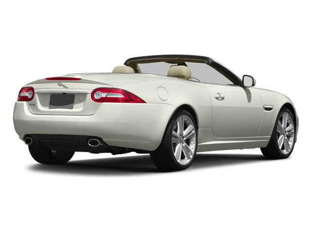 2013 Jaguar XK Prices and Values Convertible 2D Touring V8 side rear view