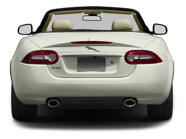 2013 Jaguar XK Prices and Values Convertible 2D Touring V8 rear view
