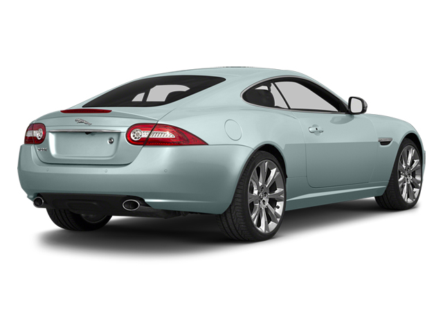 2013 Jaguar XK Prices and Values Coupe 2D Touring V8 side rear view