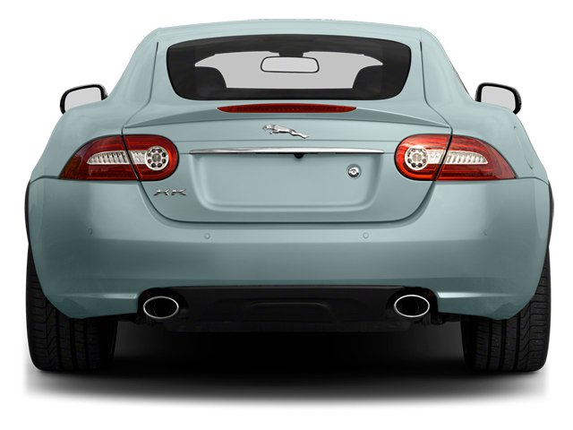 2013 Jaguar XK Prices and Values Coupe 2D Touring V8 rear view