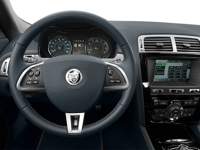 2013 Jaguar XK Prices and Values Coupe 2D Touring V8 driver's dashboard