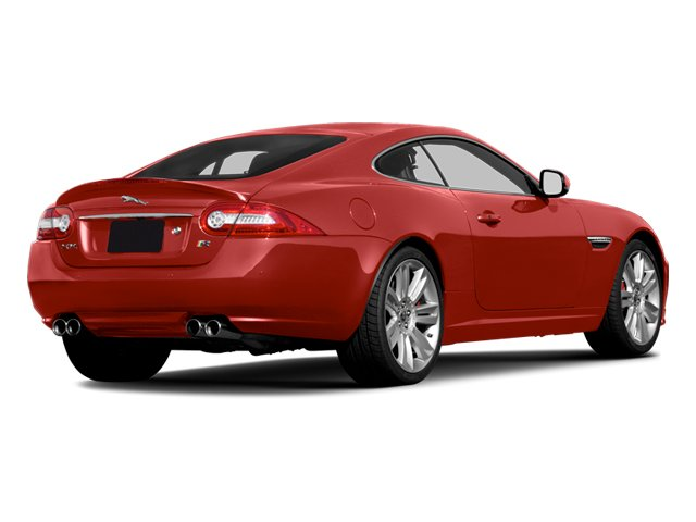 2013 Jaguar XK Prices and Values Coupe 2D XKR Supercharged side rear view