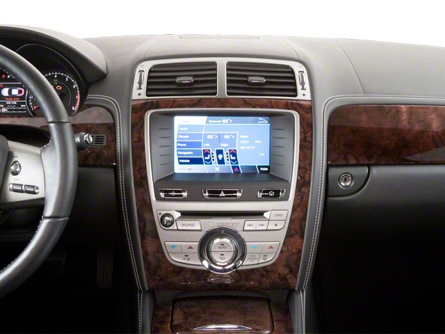 2013 Jaguar XK Prices and Values Coupe 2D XKR Supercharged center dashboard