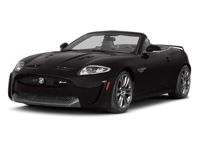 2013 Jaguar XK Prices and Values Convertible XKR-S Supercharged side front view