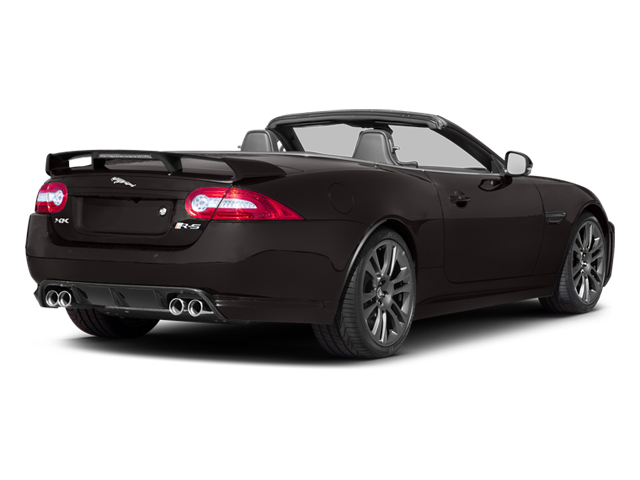 2013 Jaguar XK Pictures XK Convertible XKR-S Supercharged photos side rear view