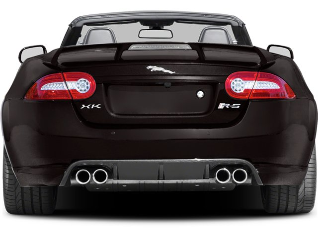 2013 Jaguar XK Pictures XK Convertible XKR-S Supercharged photos rear view