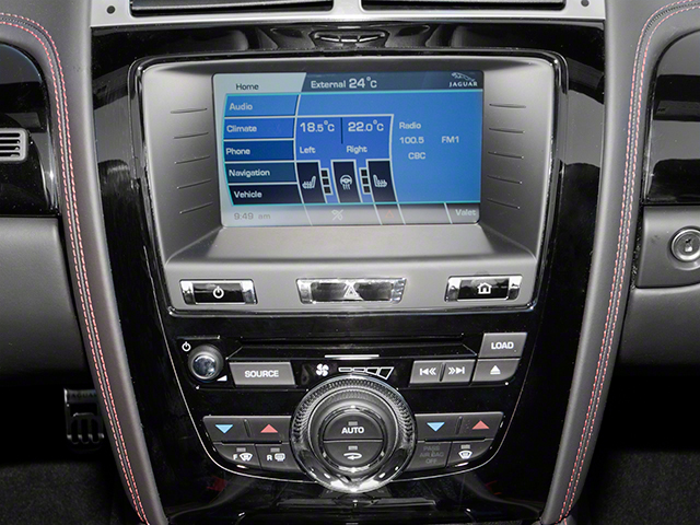 2013 Jaguar XK Prices and Values Convertible XKR-S Supercharged stereo system