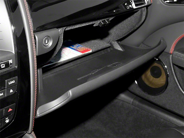 2013 Jaguar XK Prices and Values Convertible XKR-S Supercharged glove box