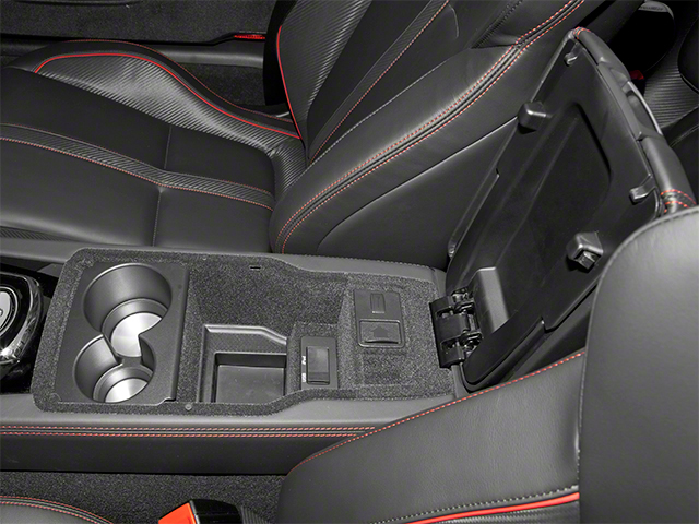 2013 Jaguar XK Prices and Values Convertible XKR-S Supercharged center storage console