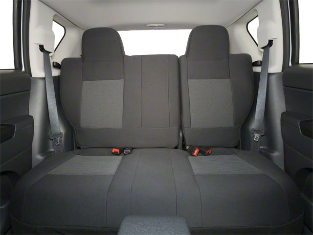 2013 Jeep Compass Prices and Values Utility 4D Latitude 2WD backseat interior