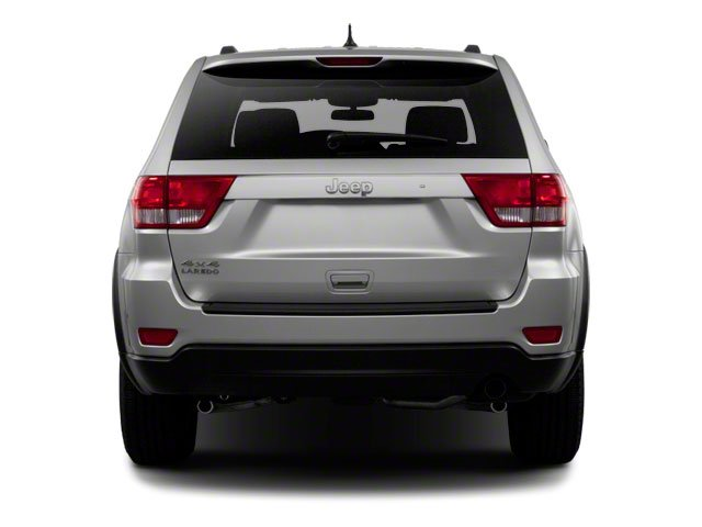 2013 Jeep Grand Cherokee Prices and Values Utility 4D Overland 4WD rear view