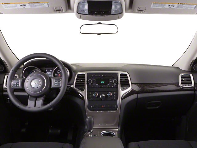 2013 Jeep Grand Cherokee Prices and Values Utility 4D Overland 4WD full dashboard