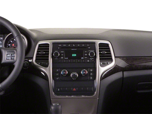 2013 Jeep Grand Cherokee Prices and Values Utility 4D Limited 4WD center dashboard