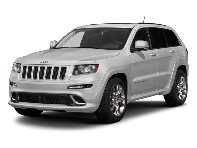 2013 Jeep Grand Cherokee Prices and Values Utility 4D SRT-8 4WD side front view