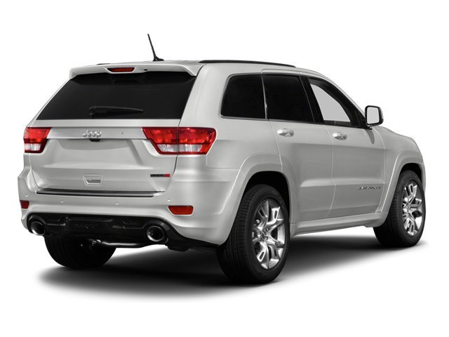2013 Jeep Grand Cherokee Prices and Values Utility 4D SRT-8 4WD side rear view