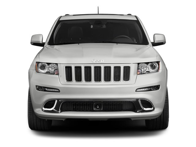 2013 Jeep Grand Cherokee Prices and Values Utility 4D SRT-8 4WD front view