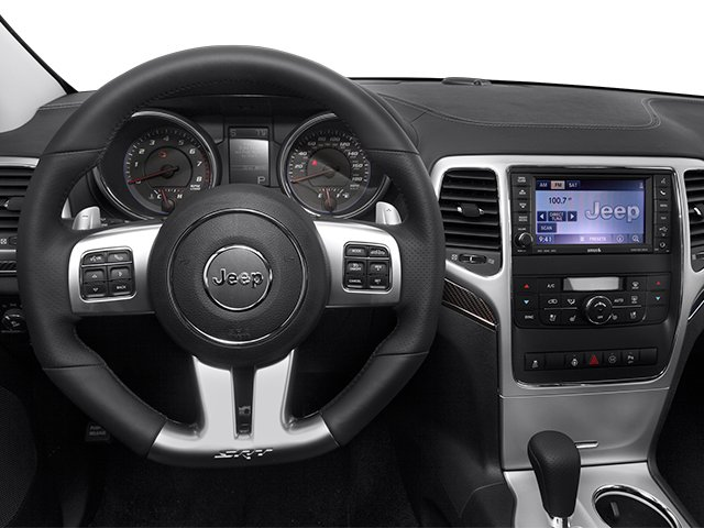 2013 Jeep Grand Cherokee Prices and Values Utility 4D SRT-8 4WD driver's dashboard