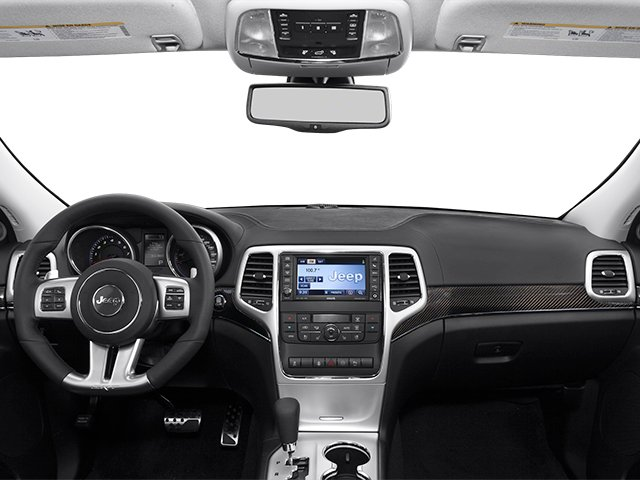 2013 Jeep Grand Cherokee Prices and Values Utility 4D SRT-8 4WD full dashboard