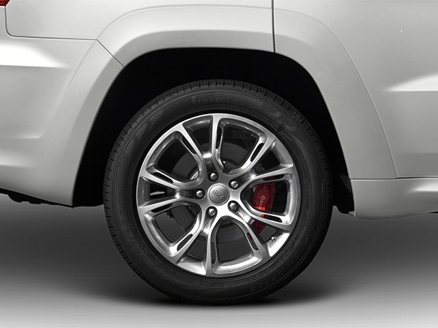 2013 Jeep Grand Cherokee Prices and Values Utility 4D SRT-8 4WD wheel