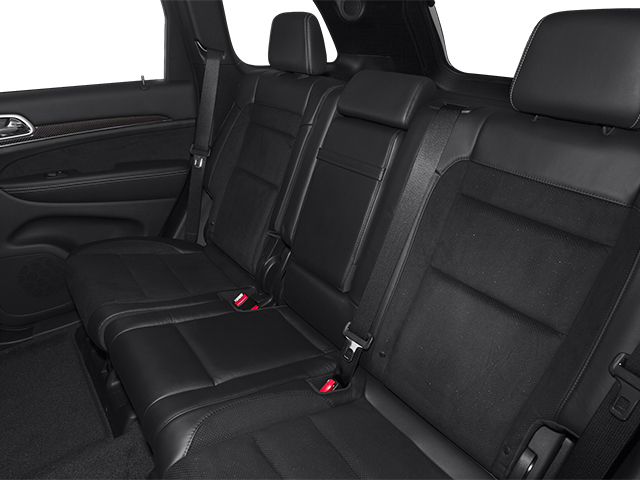 2013 Jeep Grand Cherokee Prices and Values Utility 4D SRT-8 4WD backseat interior