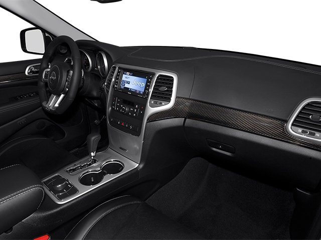 2013 Jeep Grand Cherokee Prices and Values Utility 4D SRT-8 4WD passenger's dashboard