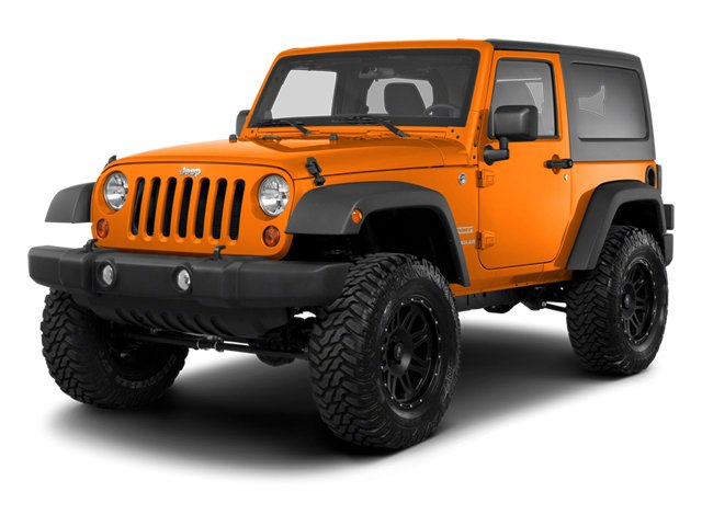 2013 Jeep Wrangler Prices and Values Utility 2D Rubicon 4WD side front view