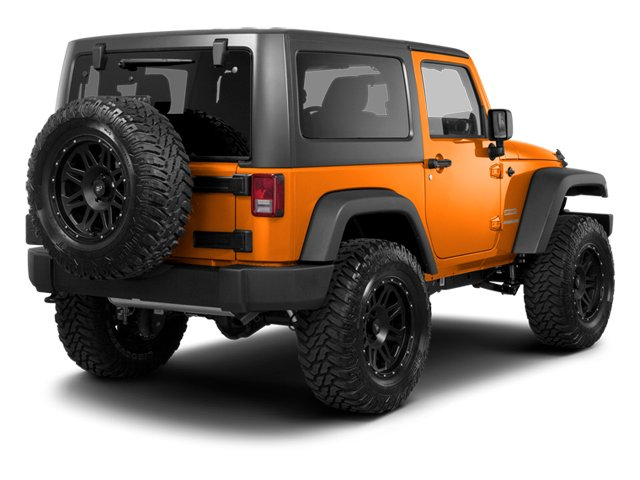 2013 Jeep Wrangler Prices and Values Utility 2D Sport 4WD side rear view