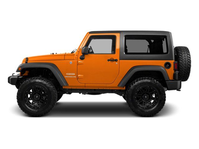 2013 Jeep Wrangler Prices and Values Utility 2D Rubicon 4WD side view