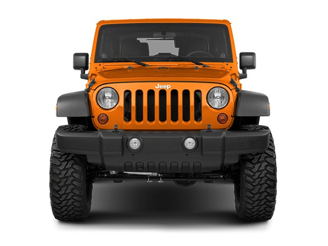 2013 Jeep Wrangler Prices and Values Utility 2D Rubicon 4WD front view