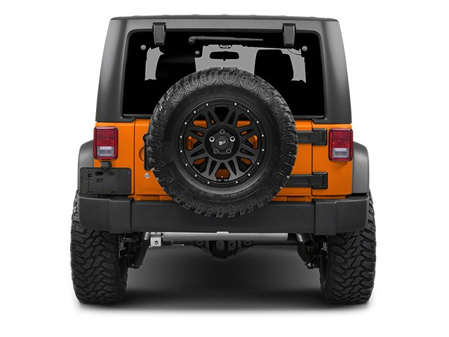 2013 Jeep Wrangler Prices and Values Utility 2D Sahara 4WD rear view