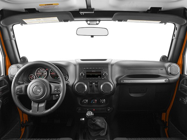 2013 Jeep Wrangler Prices and Values Utility 2D Sport 4WD full dashboard