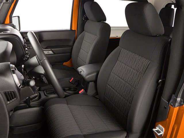 2013 Jeep Wrangler Prices and Values Utility 2D Sahara 4WD front seat interior