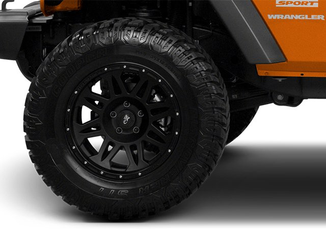 2013 Jeep Wrangler Prices and Values Utility 2D Rubicon 4WD wheel