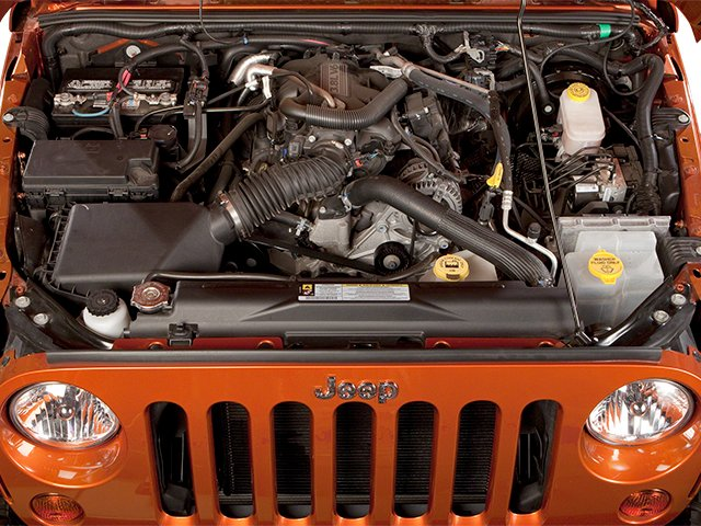 2013 Jeep Wrangler Prices and Values Utility 2D Rubicon 4WD engine
