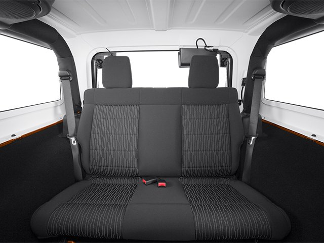 2013 Jeep Wrangler Prices and Values Utility 2D Sahara 4WD backseat interior