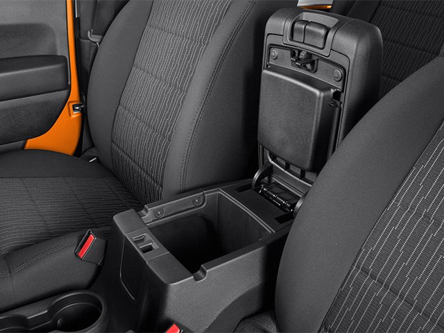 2013 Jeep Wrangler Prices and Values Utility 2D Sahara 4WD center storage console