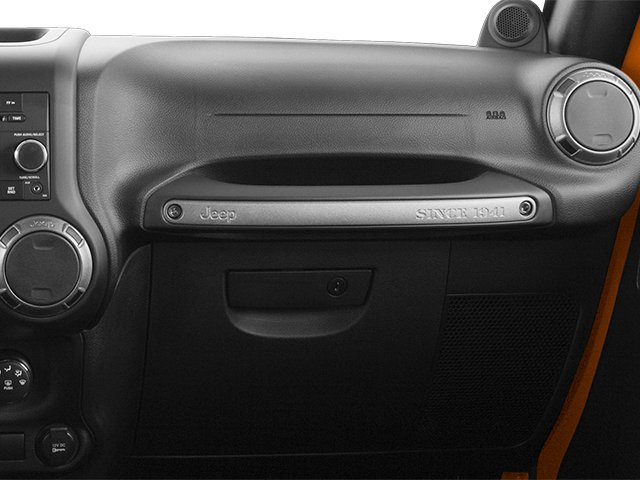 2013 Jeep Wrangler Prices and Values Utility 2D Sport 4WD passenger's dashboard