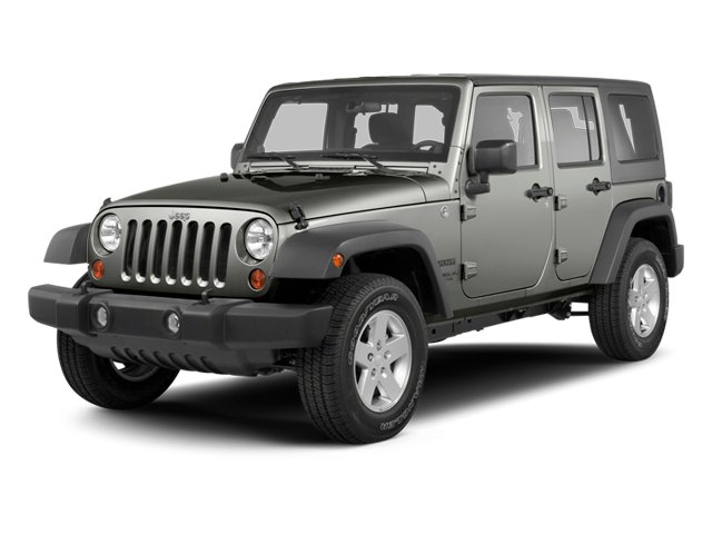2013 Jeep Wrangler Unlimited Pictures Wrangler Unlimited Utility 4D Unlimited Sahara 4WD photos side front view