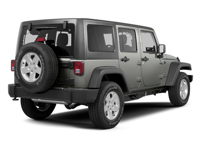 2013 Jeep Wrangler Unlimited Prices and Values Utility 4D Unlimited Sahara 4WD side rear view