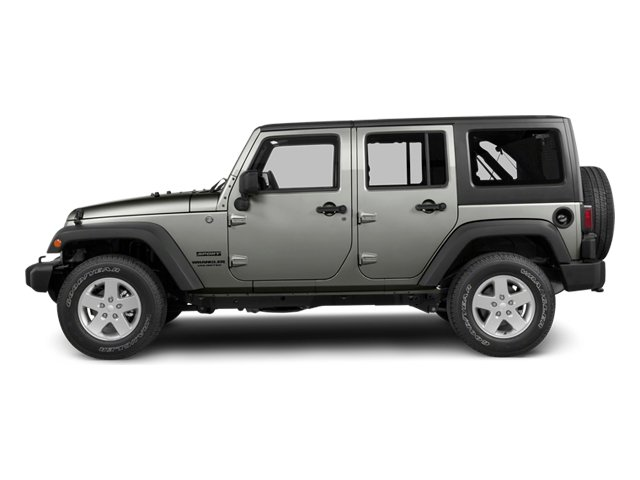 2013 Jeep Wrangler Unlimited Prices and Values Utility 4D Unlimited Sahara 4WD side view