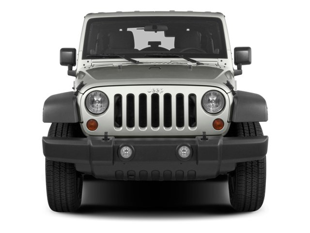 2013 Jeep Wrangler Unlimited Prices and Values Utility 4D Unlimited Sahara 4WD front view