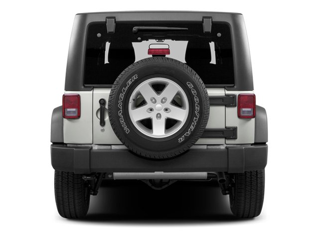 2013 Jeep Wrangler Unlimited Prices and Values Utility 4D Unlimited Sahara 4WD rear view