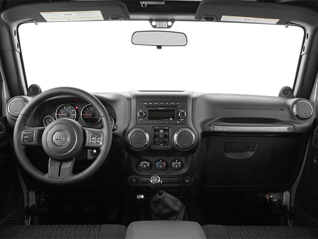 2013 Jeep Wrangler Unlimited Pictures Wrangler Unlimited Utility 4D Unlimited Sahara 4WD photos full dashboard