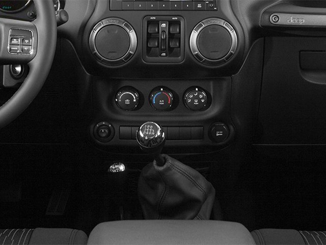 2013 Jeep Wrangler Unlimited Pictures Wrangler Unlimited Utility 4D Unlimited Sahara 4WD photos center console