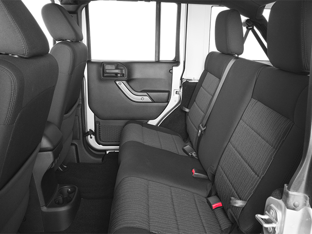 2013 Jeep Wrangler Unlimited Prices and Values Utility 4D Unlimited Sahara 4WD backseat interior